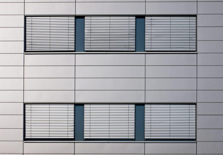 Windows with jalousies